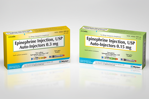 Mylan Launches Authorized Generic for EpiPen® (epinephrine injection, USP)  Auto-Injector | Asthma and Allergy Foundation of America