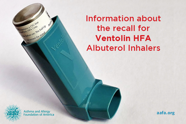 Updated Glaxosmithkline Recalling Ventolin Inhalers For Possible