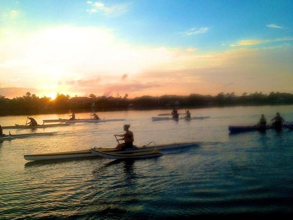 Dawn on the Banana River, Melbourne, Florida
