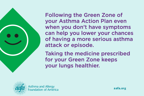 asthma peak week take medicine to reduce your chances of having an asthma attack