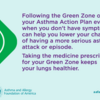 asthma peak week take medicine to reduce your chances of having an asthma attack: asthma peak week take medicine to reduce your chances of having an asthma attack