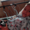 ER2: Jonathan Robinson, Jr. in the hospital in November 2016 for an asthma attack