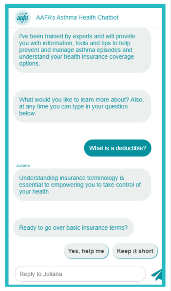 Asthma-chatbot-deductible