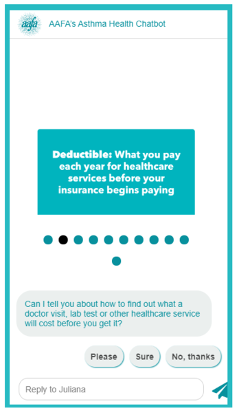 Asthma-chatbot-definition