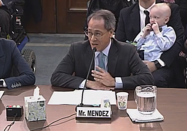 Kenneth Mendez of the Asthma and Allergy Foundation of America testifies to the House about the School-Based Allergy and Asthma Management Act
