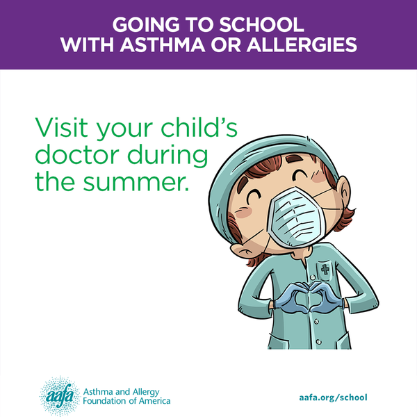 Visit your child's doctor during the summer