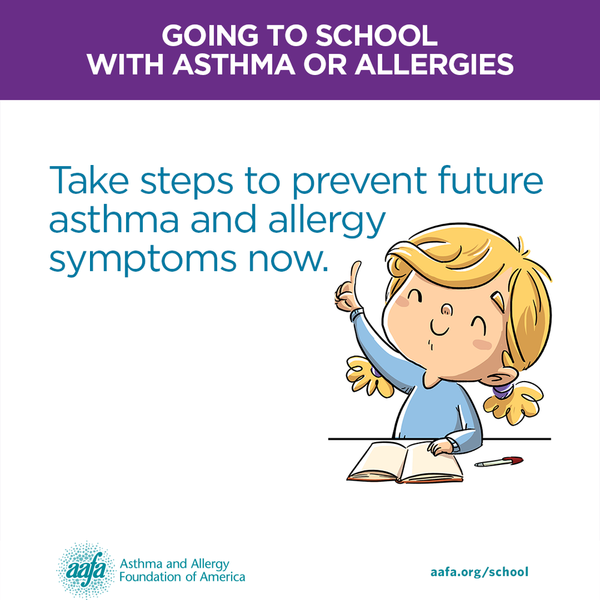 Take steps to prevent future asthma and allergy symptoms now.