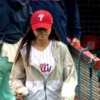 Michelle Phu Throws First Pitch to Raise Asthma Awareness