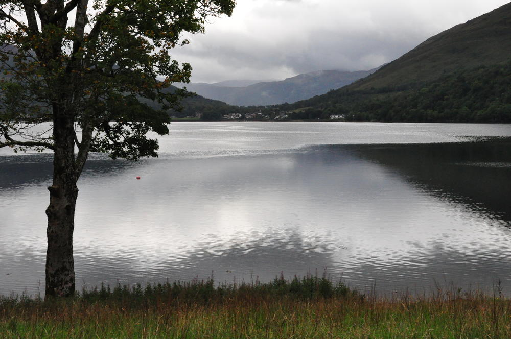 Walking in the Scottish Highlands 08/20/16