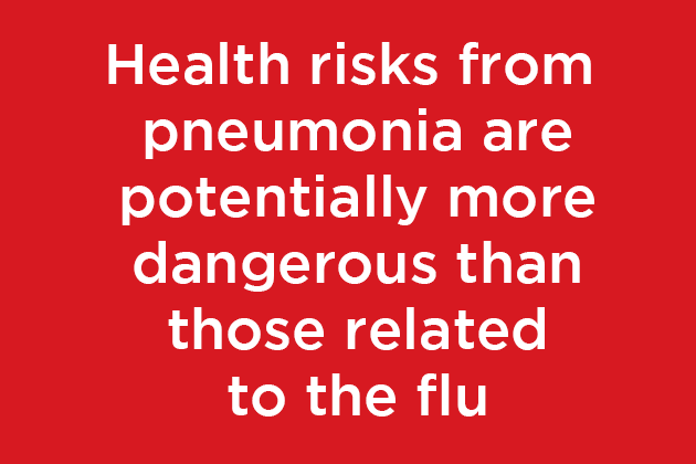 Health Risks From Pneumonia Can Be More Dangerous Than Those Related to Flu
