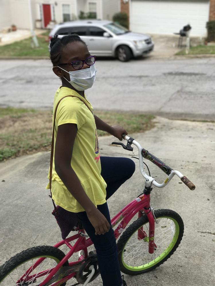 Asthma doesn't stop this kiddo!