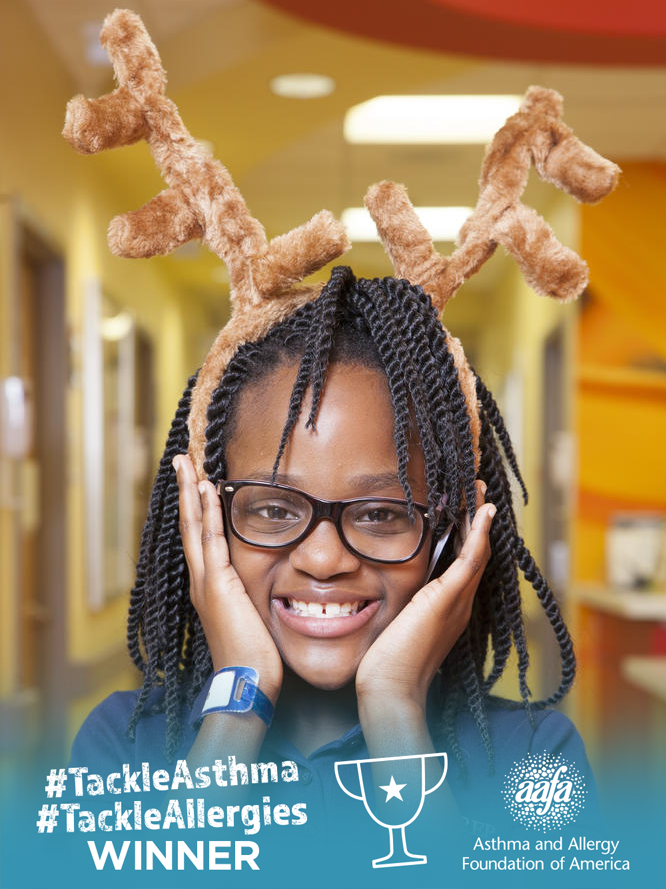 Eden Can #TackleAsthma - Photo Contest Winner 5/14