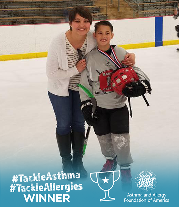 Avery Can #TackleAsthma on the Ice - Photo Contest Winner 5/31