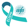 Eczema Awareness Ribbon teal