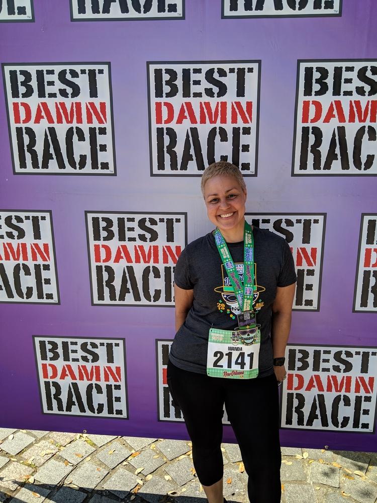BDR Half Marathon Finisher