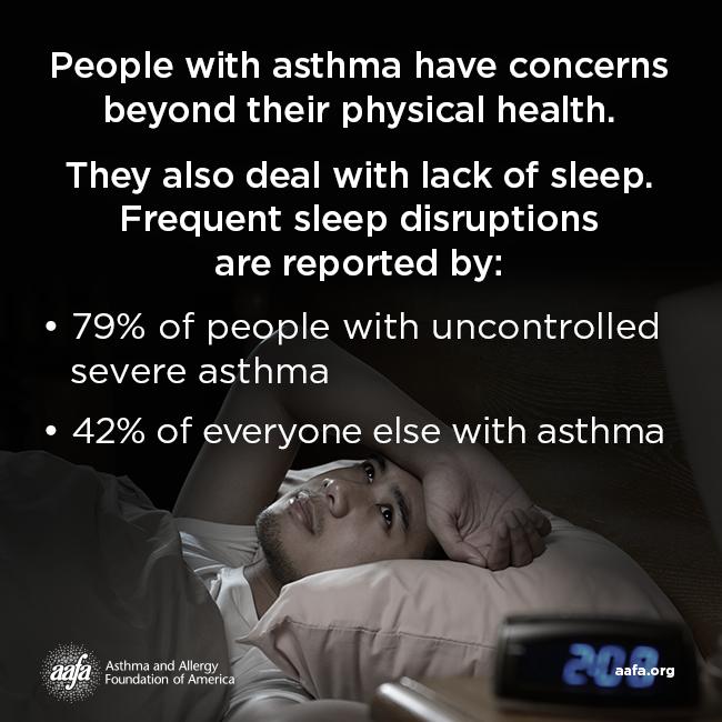 Asthma Can Affect Your Sleep