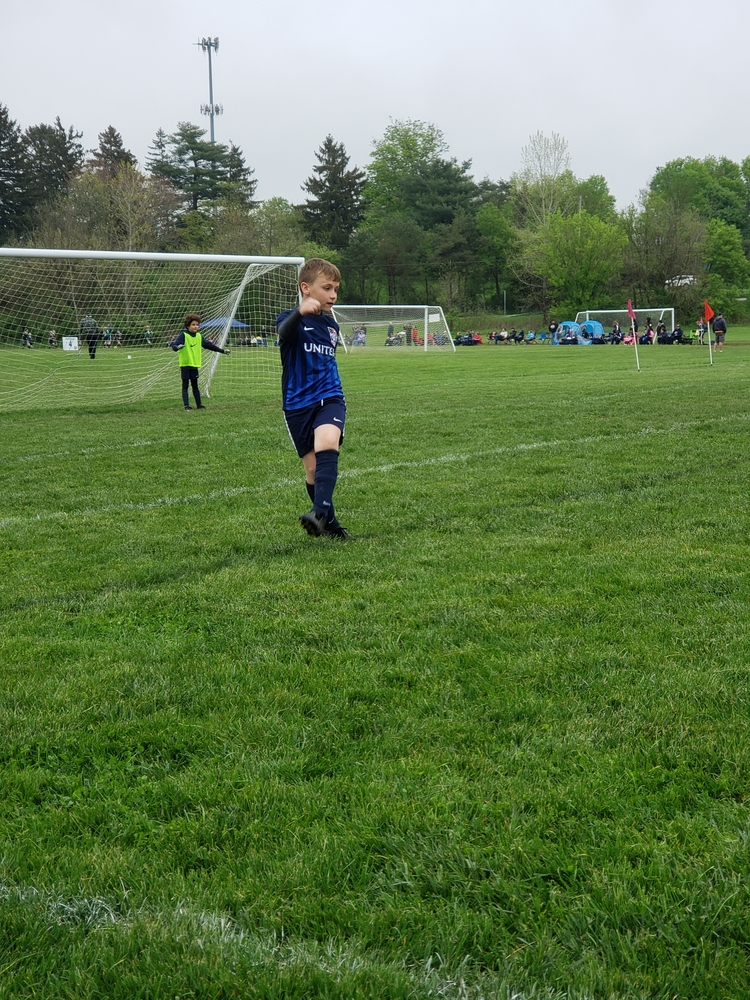 Love playing soccer, despite having asthma and allergies!