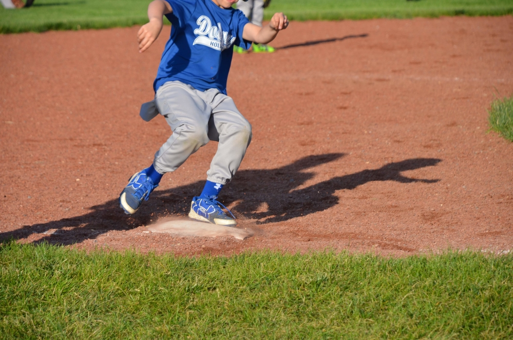 Asthma and Allergies don't stop me from playing baseball!