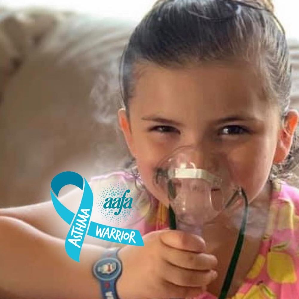 Willow takes preventative Nebs to keep her asthma in check so she can keep living life as a happy 6 year old!