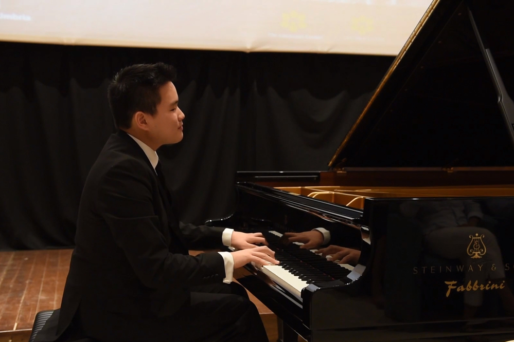 This young pianist is #morethanasthma