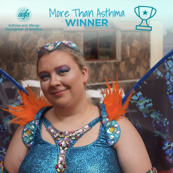 Kristyn shows she is #MoreThanAsthma - Photo Contest Winner 2