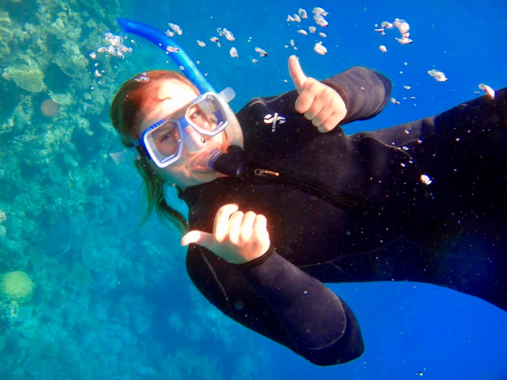 #more than Asthma, Snorkeling the Great Barrier Reef