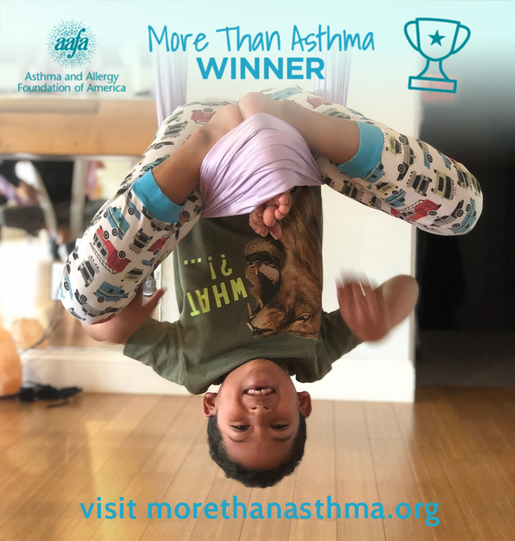 Rashaun G. shows he is #MoreThanAsthma - Photo Contest Winner 5/10