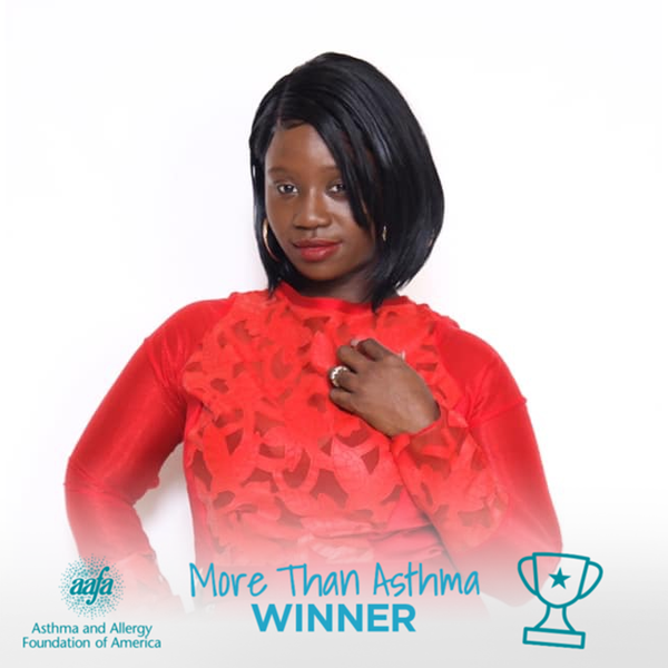 Kamille Rivers shows she is #morethanasthma - Contest Winner