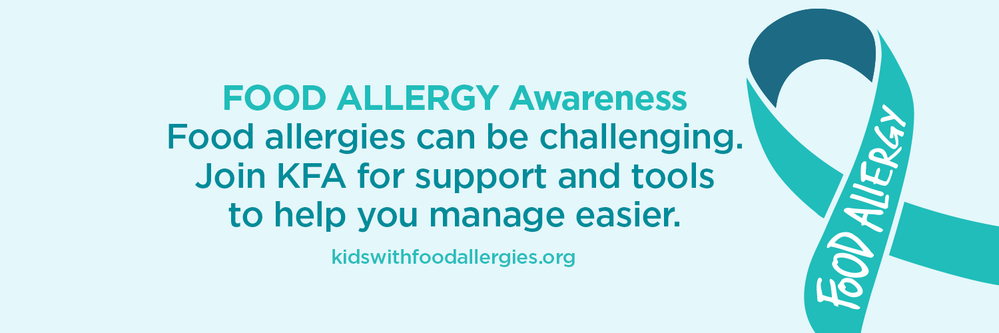 Food Allergy Awareness Join KFA Twitter Cover
