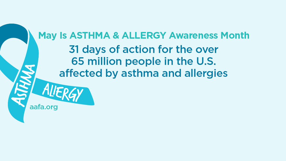 31 Days of Action Asthma Awareness Facebook Cover