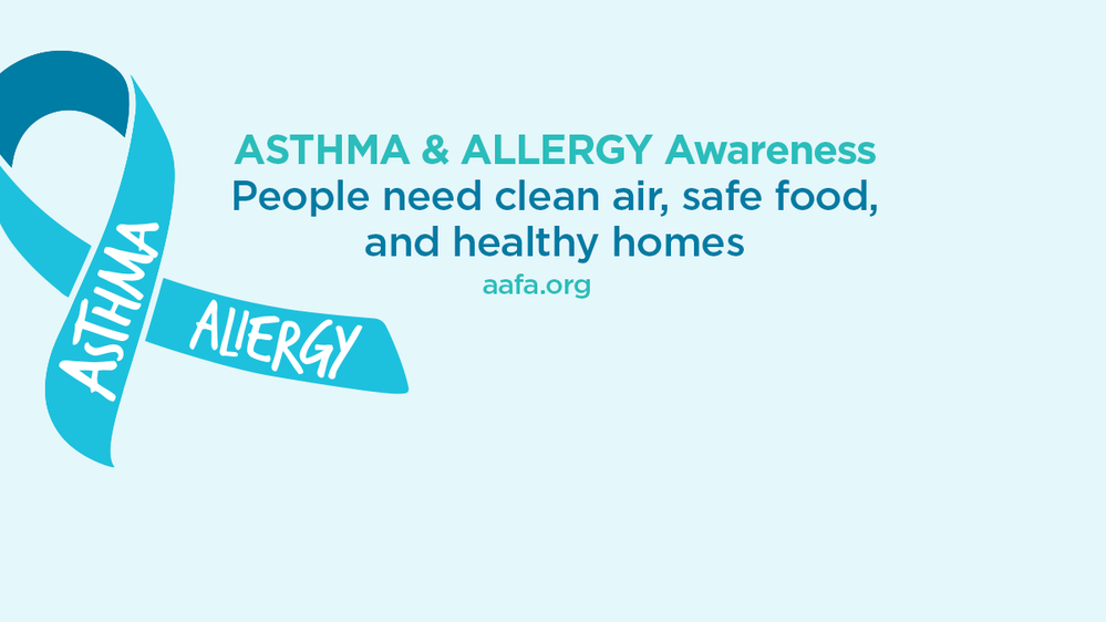 Asthma Awareness People Need Clean Air Facebook Cover