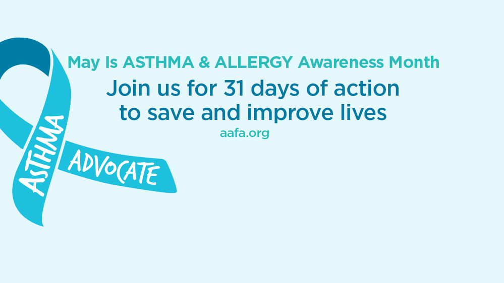 Asthma Awareness Join to Improve Lives Facebook Cover