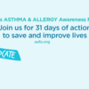 Asthma and Allergy Awareness - Join Us (Facebook)
