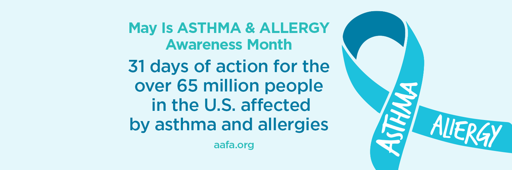 31 Days of Action Asthma Awareness Twitter Cover