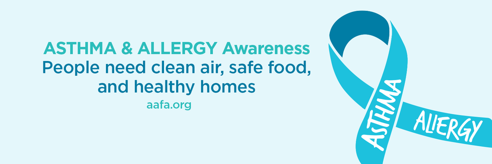 Asthma Allergy Awareness Clean Air Twitter Cover