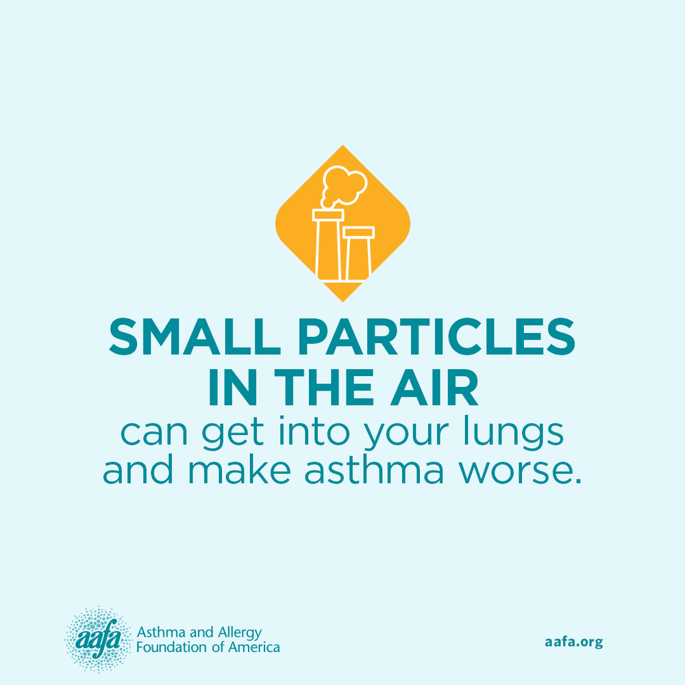 Asthma Education: Small Particles in the Air Can Make Asthma Worse