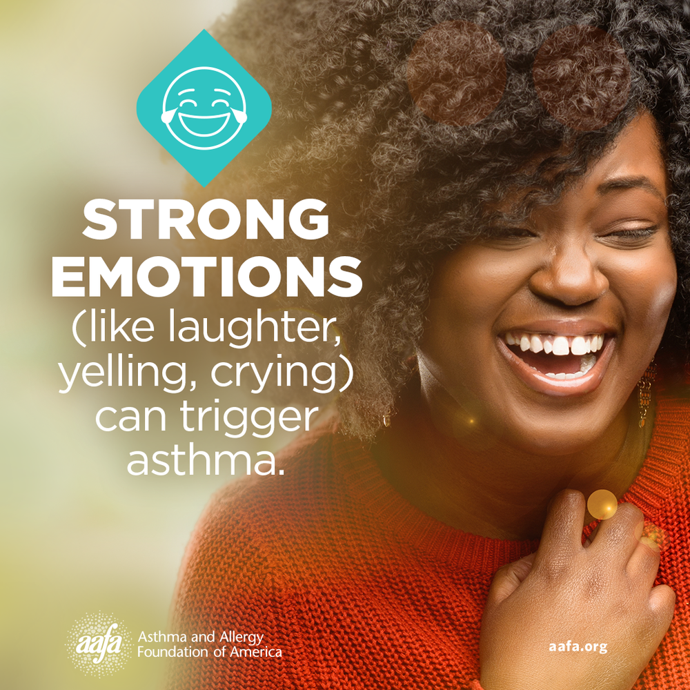 Asthma Education: Strong Emotions Can Trigger Asthma