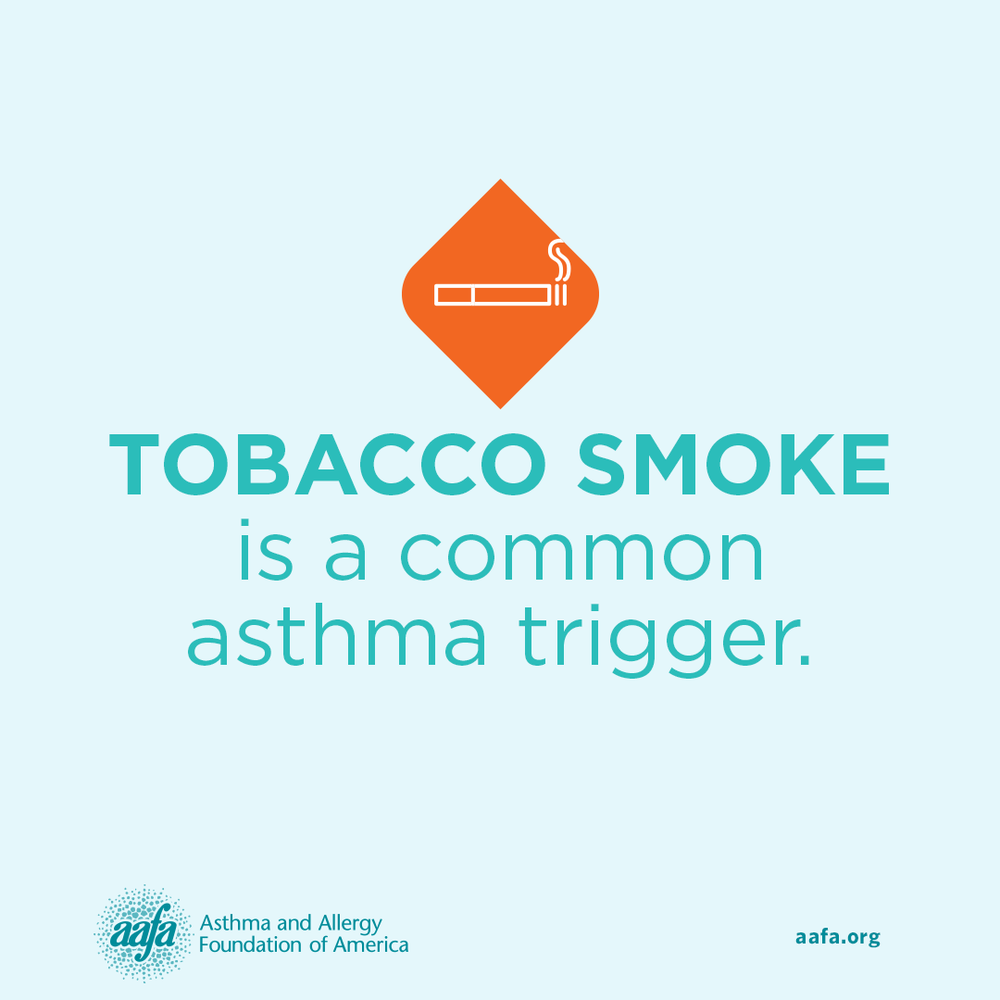 Asthma Education: Tobacco Smoke is a Common Asthma Trigger