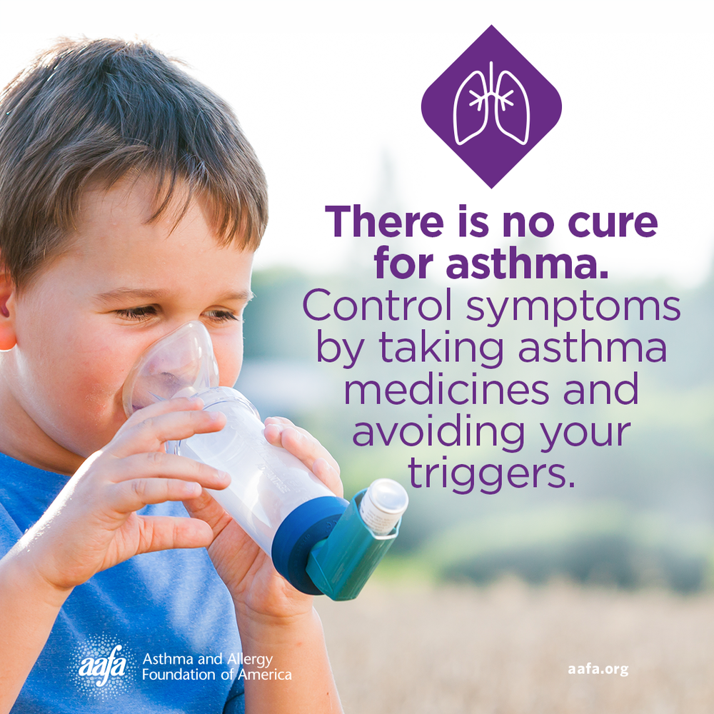 There is No Cure for Asthma