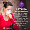 Asthma Education: Asthma Causes Airway Swelling