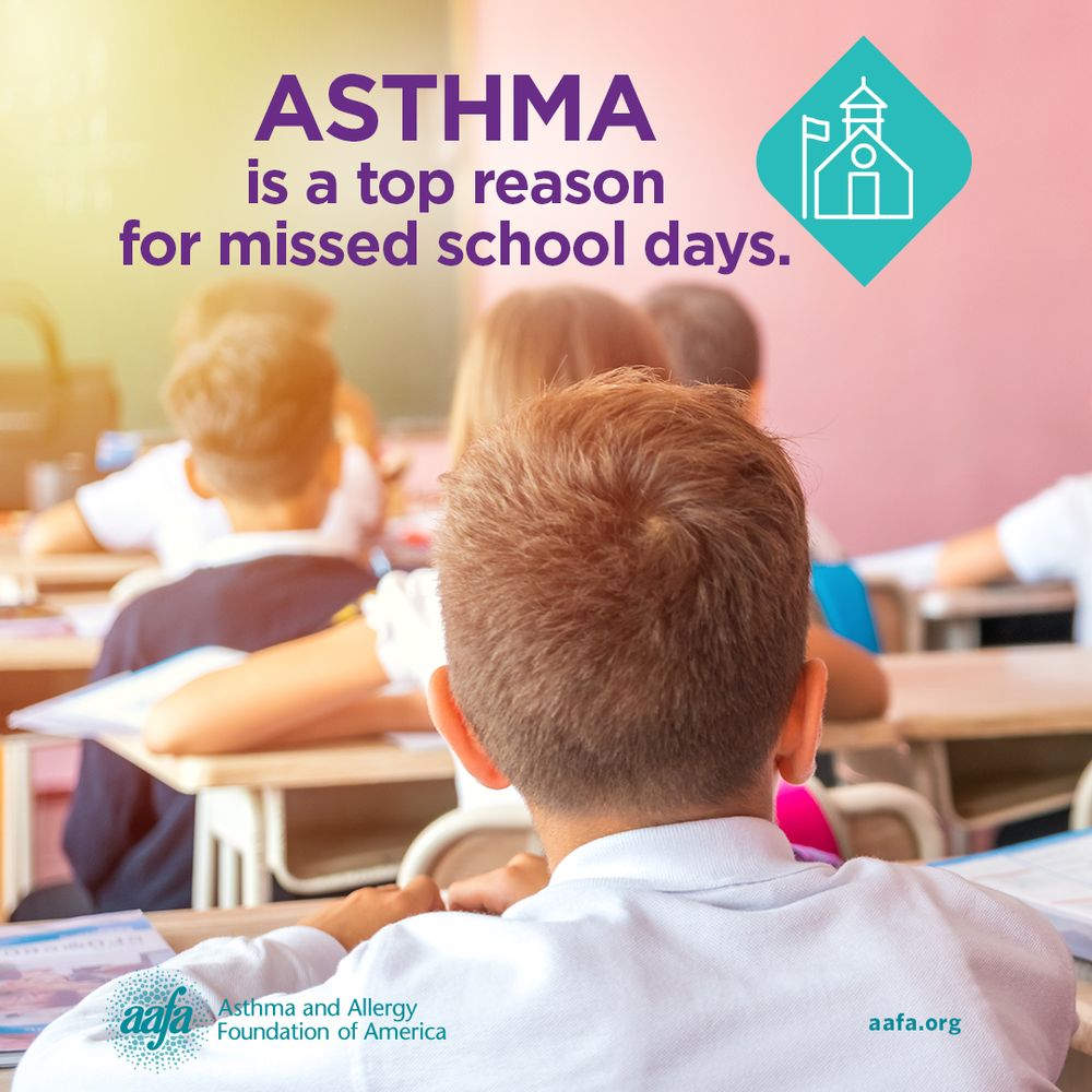 Asthma Education: Asthma is the Top Reason for Missed School Days