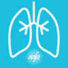 Asthma Awareness Lungs Profile Pic (Blue)