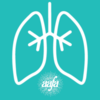 Asthma Awareness Lungs Profile Pic (Teal)