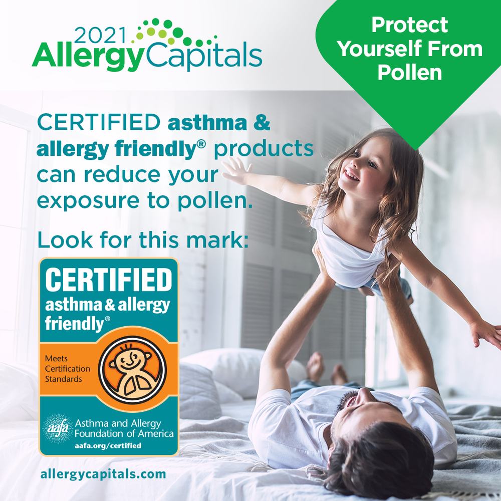 Protect Yourself From Pollen: Look for the CERTIFIED Mark