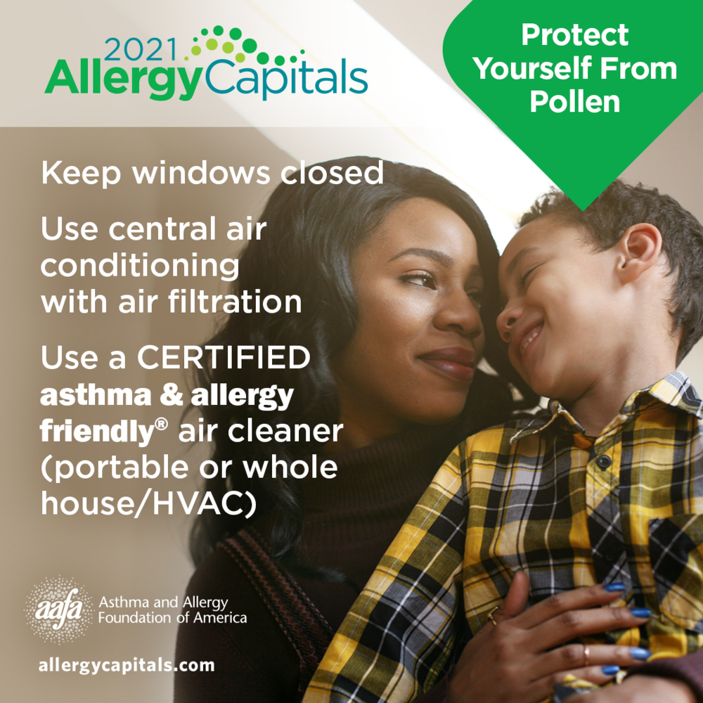 Protect Yourself from Pollen: Keep Pollen Out of Your Home