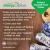 Protect Yourself from Pollen: Don't Bring Pollen into Your Home